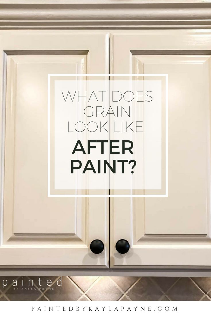 Worried about what your Oak cabinets would look like if you painted them?  I am often asked what the wood grain will look like after paint.  This post is a good example of what the average oak kitchen looks like after painting!
