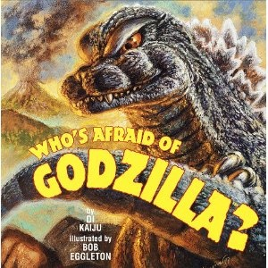Another fun kiddie book, Anguirus becomes friends with lonely Godzilla