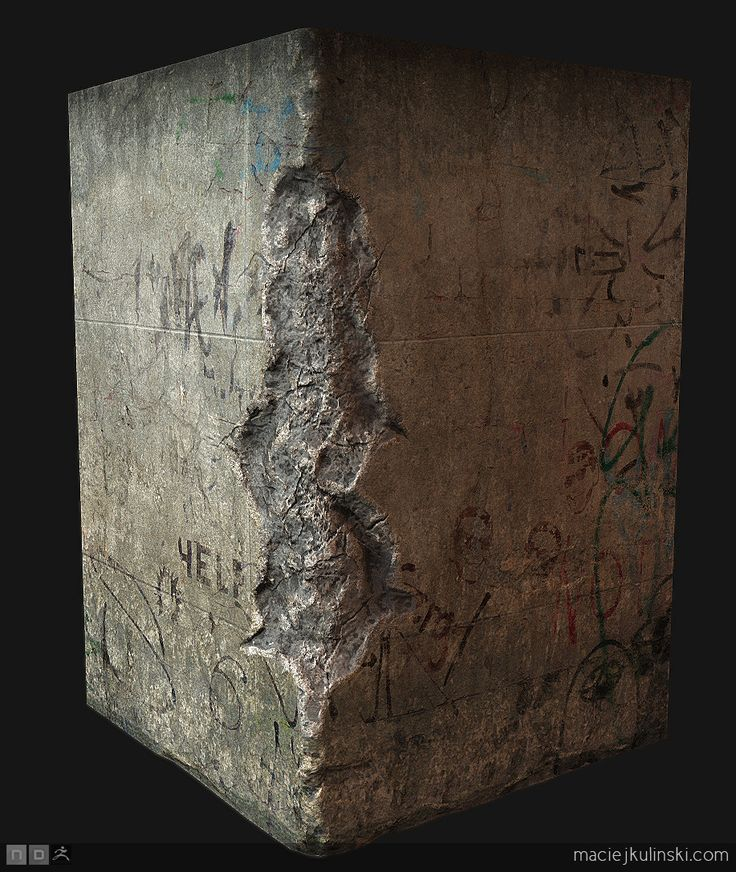 concrete block by dyv