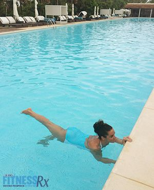 5 Fat-Burning Water Workouts - Fun pool exercises to do on vacation