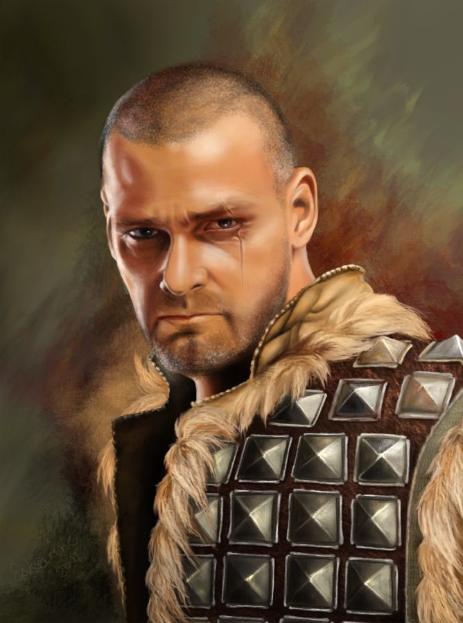 Ray Stevenson by Eskarine on @DeviantArt