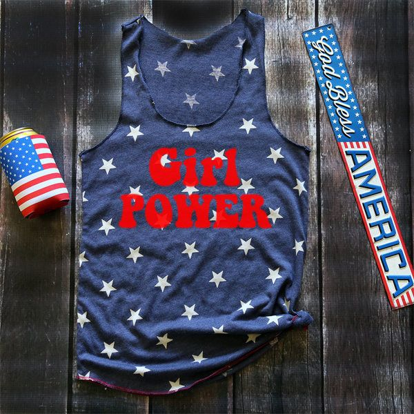 Fourth of July Tank Fourth of July American Flag Clothing 4th of July... ($27) ❤ liked on Polyvore featuring tops, dark olive, women's clothing, usa flag shirt, blue tank top, crew neck tank top, crew shirt and blue shirt