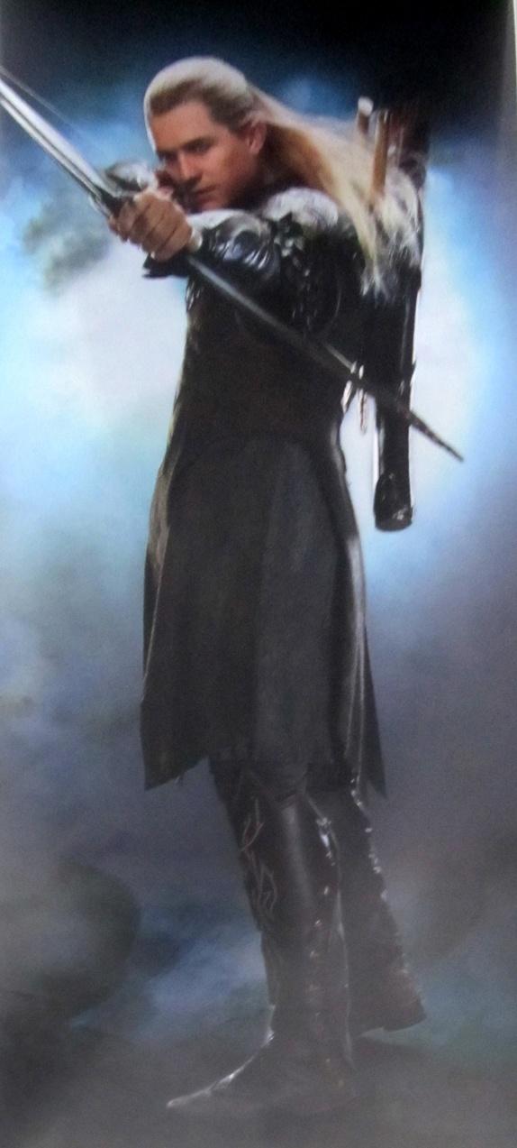 Orlando Bloom as Legolas in the Hobbit (courtesy Herr der Ringe)
