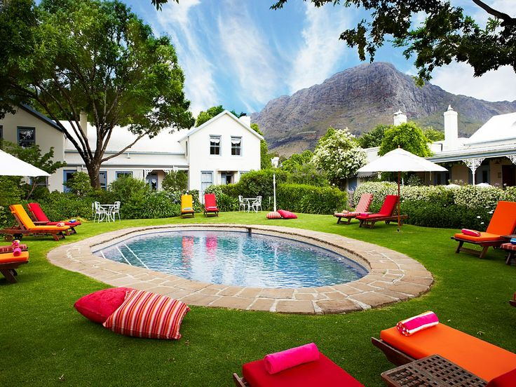 """With a private screening room and """"superb food,"""" Le Quartier Français in Franschhoek is the ultimate luxury spot to cheer on your team. Find more best places to watch the World Cup in South Africa: http://pin.it/LApZUmR"""