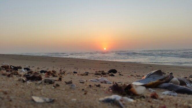 Sunrise at Umdloti Beach