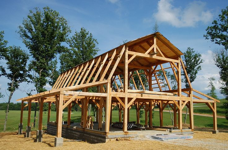 25 best ideas about pole barn construction on pinterest for Pole barns tennessee