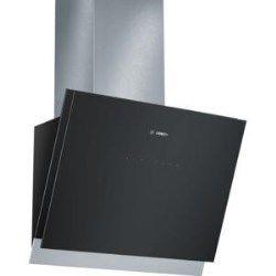 Bosch DWK068G61B 60cm Angled Cooker Hood Black