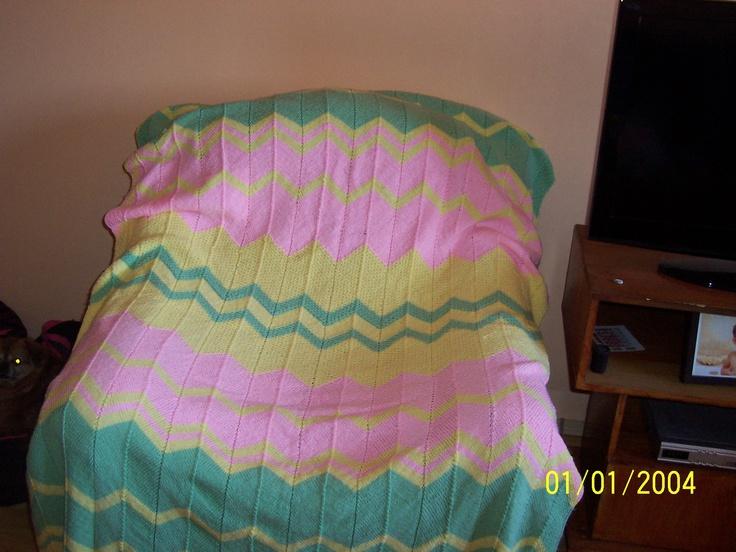 patura copil tricotata