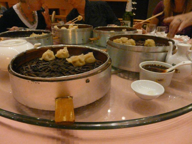 Dumplings, Shui Jiao Dumpling dinner, Xian, China. October 2011