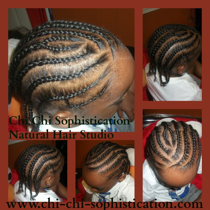 Straight Back Cornrows For Boys Children Hair Styles By