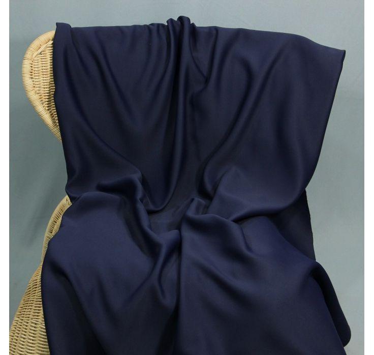 Tissu occultant grande largeur bleu marine, tissu au mètre, tissu pas cher, tissus à prix discount
