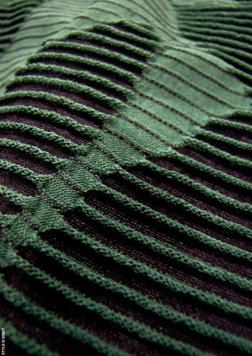 beautiful knitting. Looks like a landscape