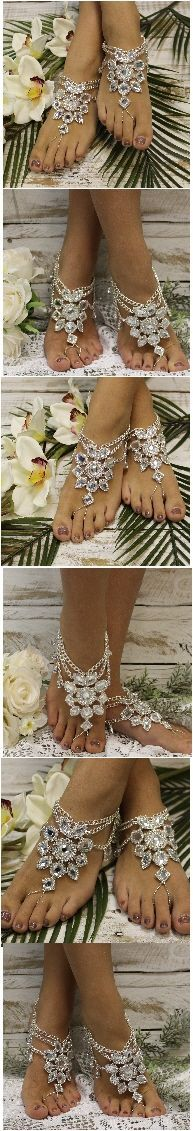 Gypsy Sole barefoot sandals. perfect for Bohemian outdoor weddings! FREE SHIPPING! Pin.and save for future wedding ideas!