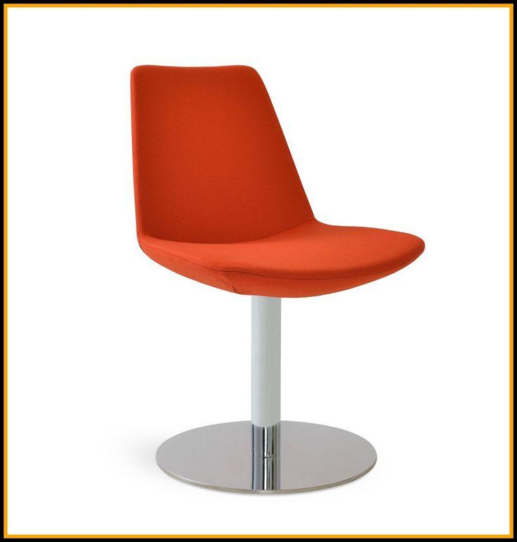 target swivel chair white