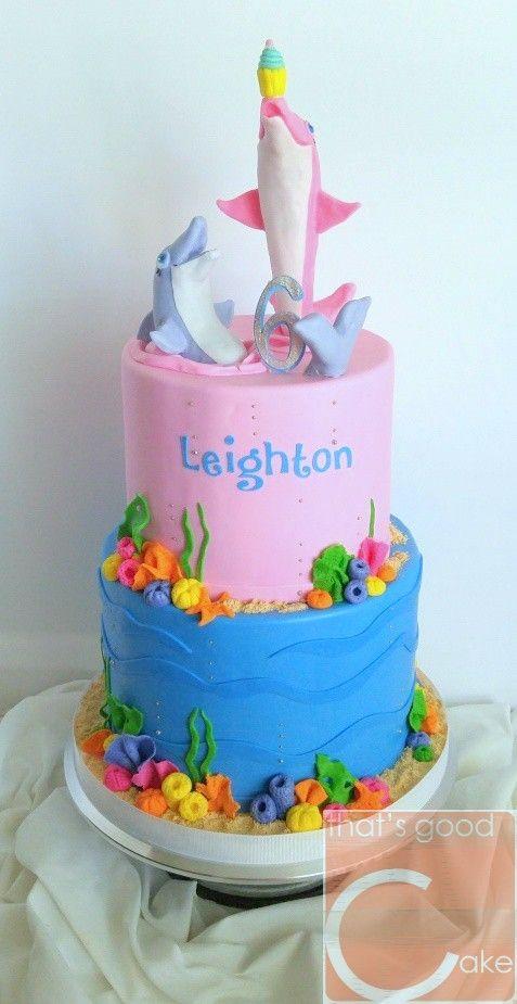 Dolphin Cakes Birthday