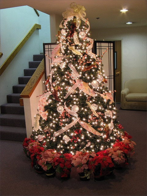 7.5 ft Asian Themed Christmas Tree by Mastery of Maps, via Flickr