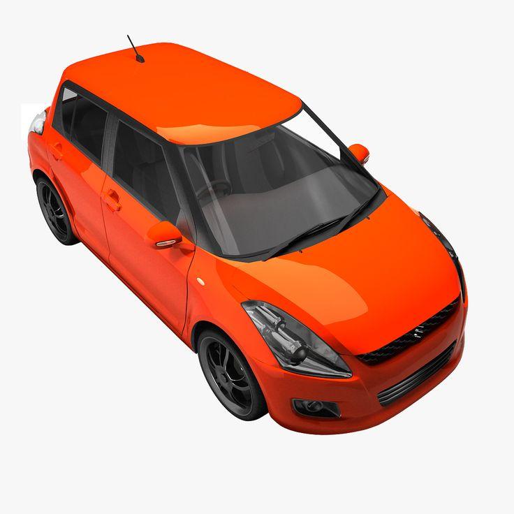 Maruti Suzuki Swift 1 Max - 3D Model