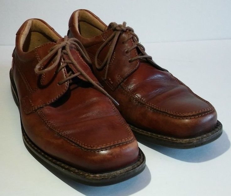 ECCO Oxfords Mens Size 42 (8-8.5 US) Casual Lace Up Dress Shoes