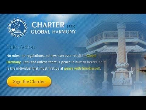 Love and Laugh, The Charter for #GlobalHarmony : The Charter for Global Harmony / Piagam Keselarasan Global, di gagas oleh seorang tokoh spiritual dari Indonesia Anand Krishna.    Piagam Keselarasan Global adalah wujud cinta beliau... (More Klik pada gambar untuk melihat Video)