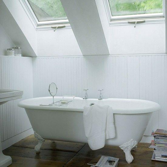 Modern white bathroom | Small bathroom design ideas | Bathroom decorating ideas | Bathroom storage | PHOTO GALLERY | Housetohome
