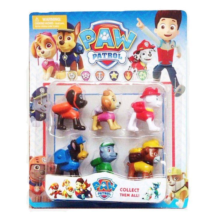 6 pcs PAW PATROL Cake Toppers Marshall Rubble Chase Rocky Zuma Skye Figure Set   Toys & Hobbies, TV, Movie & Character Toys, Other TV/Movie Character Toys   eBay!