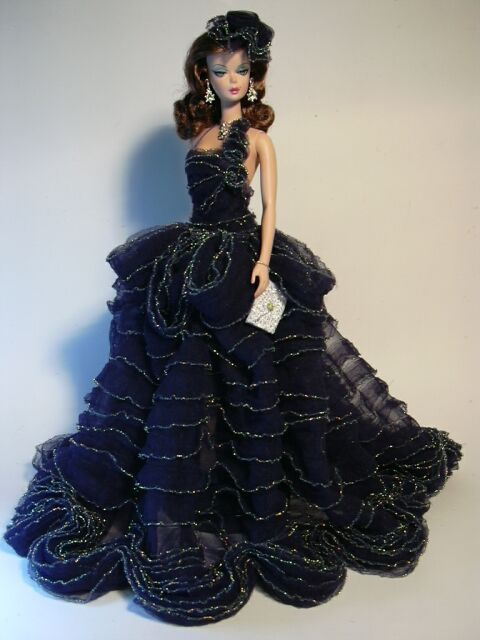 Barbie Blue Corall Artist Creations Italian O.O.A.K. Fashion Dolls by Alessandro Gatti e Giuseppe De Bellis