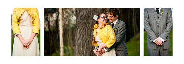 The yellow theme carried right through this wedding with Nick and Rhea at the Islington Hotel in Hobart