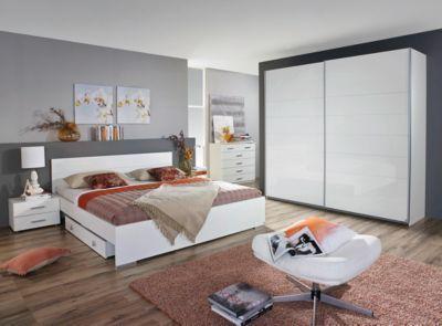 Schlafzimmer komplett weiß  schlafzimmer komplett weiß hochglanz haus ideen innenarchitektur