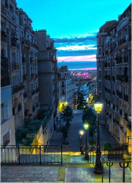 Montmartre... In Paris