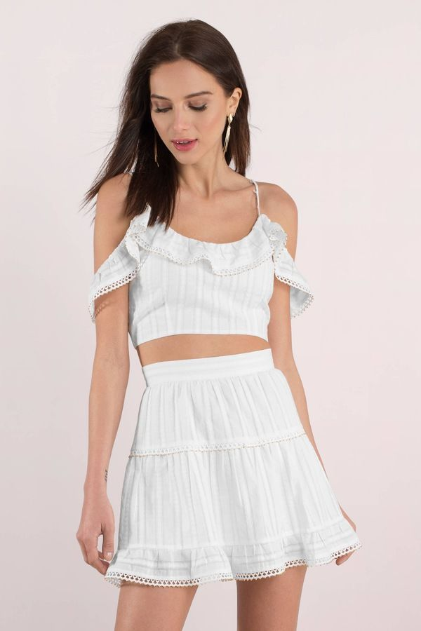 Free To Be White Beaded Crop Top Beaded Crop Top Boho Outfits White Halter Crop Top