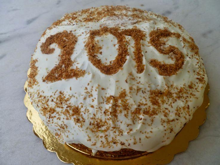 MARI PLATEAU: Βασιλόπιτα - Κέικ Καρύδας & Λεμονιού με Γλάσο