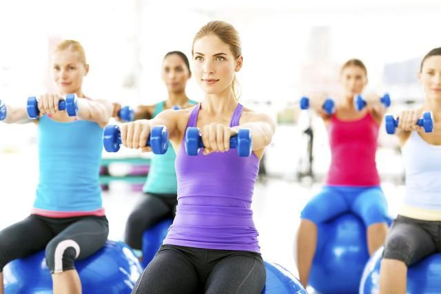 Hand weights can add variety and extra arm toning to exercises. Find out how to use hand weights in a Pilates workout.