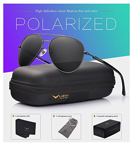 [$13.08 save 78%] #LightningDeal 94% claimed: LUENX Mens Aviator Sunglasses Polarized :UV 400 Protection Metal F... https://www.lavahotdeals.com/us/cheap/lightningdeal-78-claimed-luenx-mens-aviator-sunglasses-polarized/298233?utm_source=pinterest&utm_medium=rss&utm_campaign=at_lavahotdealsus&utm_term=hottest_12