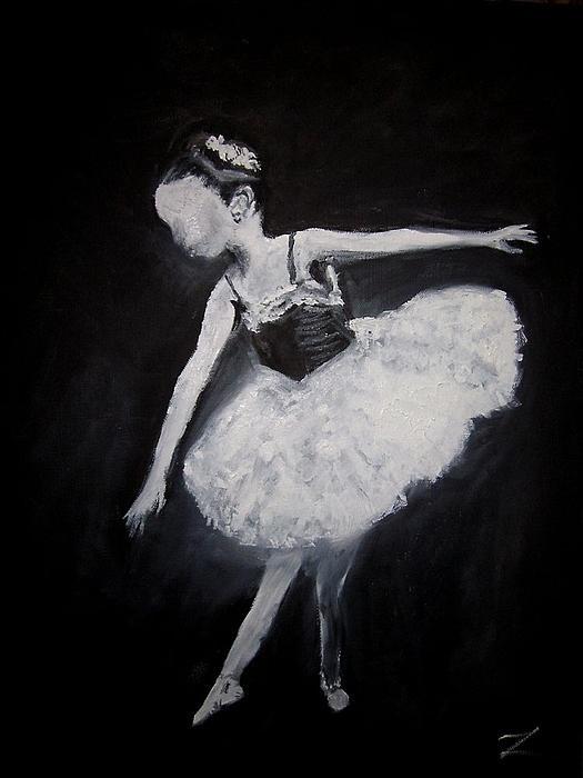 The Dance   Original Media -Oils 16 x 20   Artist : Zipolita- aka Tina Winterlik