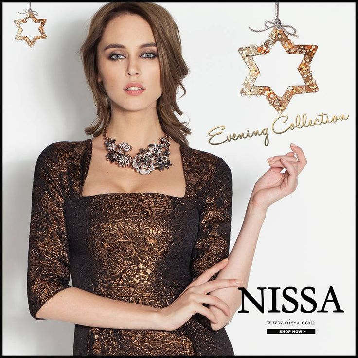 www.nissa.com  #nissa #eveningdress #party #wear #evening #dress #womans #glam #model #chic