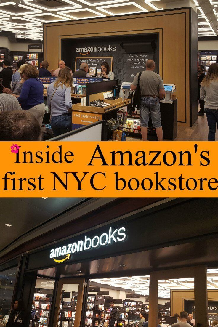 When traveling I love to visit the hot new thing, whether it's a new attraction, store, or restaurant.  In this case it happened to be Amazon's first bookstore in New York City. I was curious to learn why Amazon would open a bookstore, especially since they are the reason for the demise of most bookstores in America. amazon, amazon things to buy on, amazon fba, amazon echo, amazon prime, amazon bookstore, amazon new york, amazon nyc, amazon bookstore new york city