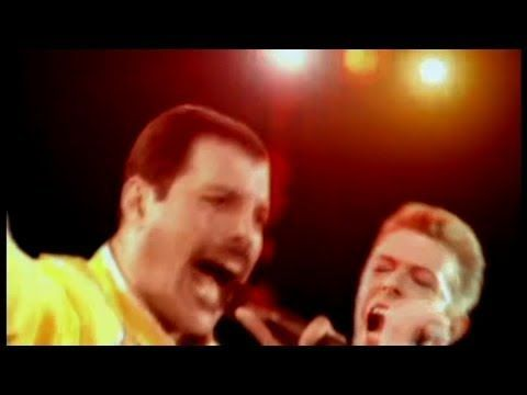 Queen & David Bowie - Under Pressure (Vanilla Ice sampled this song in Ice Ice Baby, but it doesn't ruin the fact that this is an awesome song with amazing vocals from Freddie Mercury)