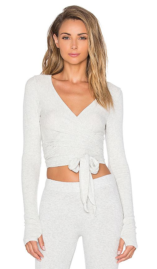 Shop for Spiritual Gangster Ballet Wrap Top in Ash at REVOLVE. Free 2-3 day shipping and returns, 30 day price match guarantee.