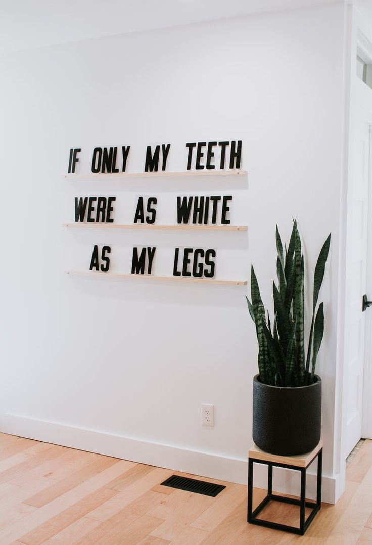 Letters Ledges In 2019 Diy Home Decor Word Wall Decor Funny