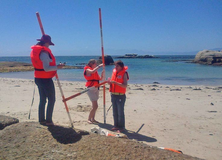 Agents of Change at Sea Forth beach, Cape Town.