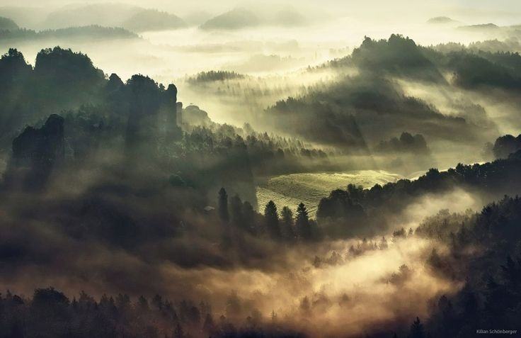 Foggy European Landscapes at Sunrise Photographed by Kilian Schönberger  http://www.thisiscolossal.com/2014/11/foggy-european-landscapes-at-sunrise-photographed-by-kilian-schonberger/