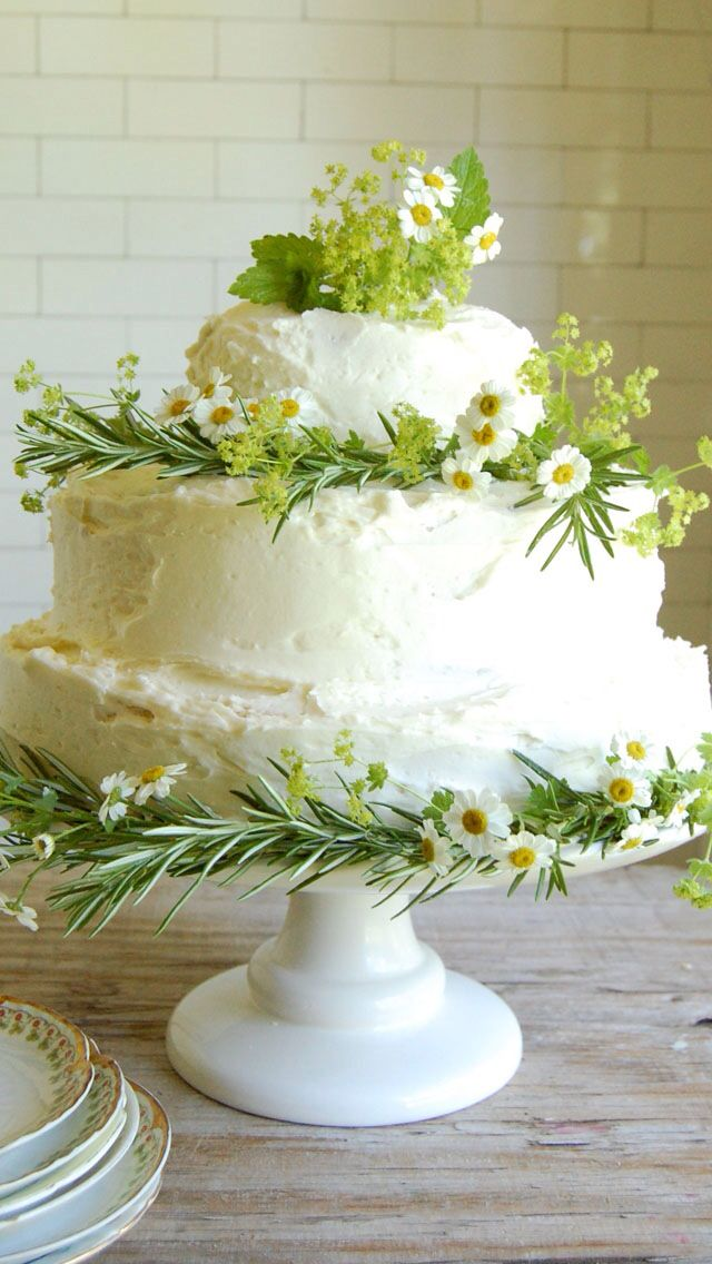 I don't like the grass and the flowers on the cake because maybe ther is bugs on them and that means you are eating bugs