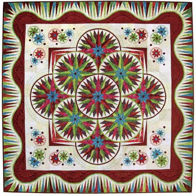 116 best Quilts with Unusual Borders or Shapes images on Pinterest ... : quilting contests - Adamdwight.com