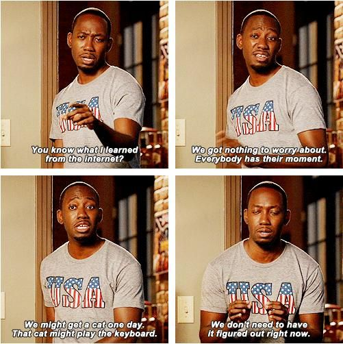 Winston just might be my favorite thing about New Girl.