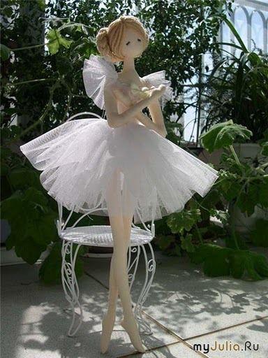 Балерина (тряпиенс) - МК от Lionessa. Каркасный вариант.. Комментарии : LiveInternet - Российский Сервис Онлайн-Дневников