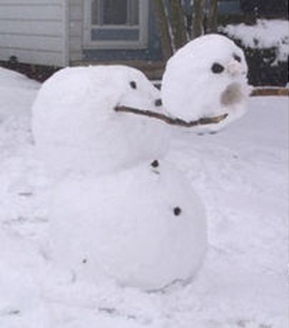 Greatest Calvin and Hobbes snowman
