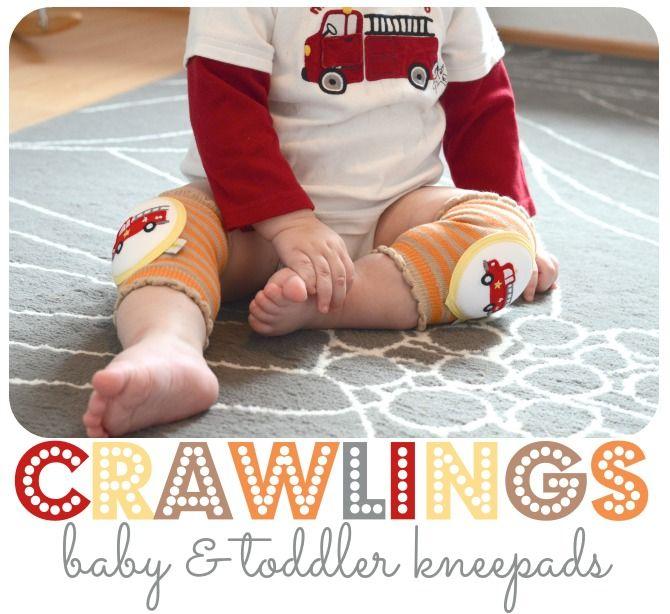 Crawlings Baby & Toddler Knee Pads