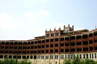 Sanatório Waverly Hills em Kentucky.
