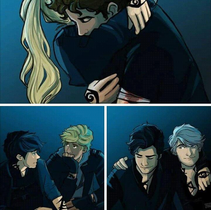 Parabatai - Julian & Emma, Jace & Alec, Will & Jem