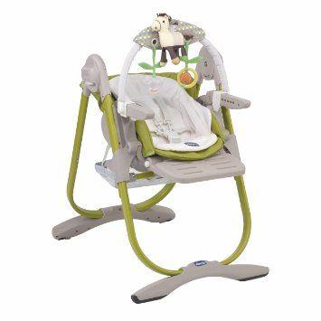 Transat haut/chaise haute, couleur vert